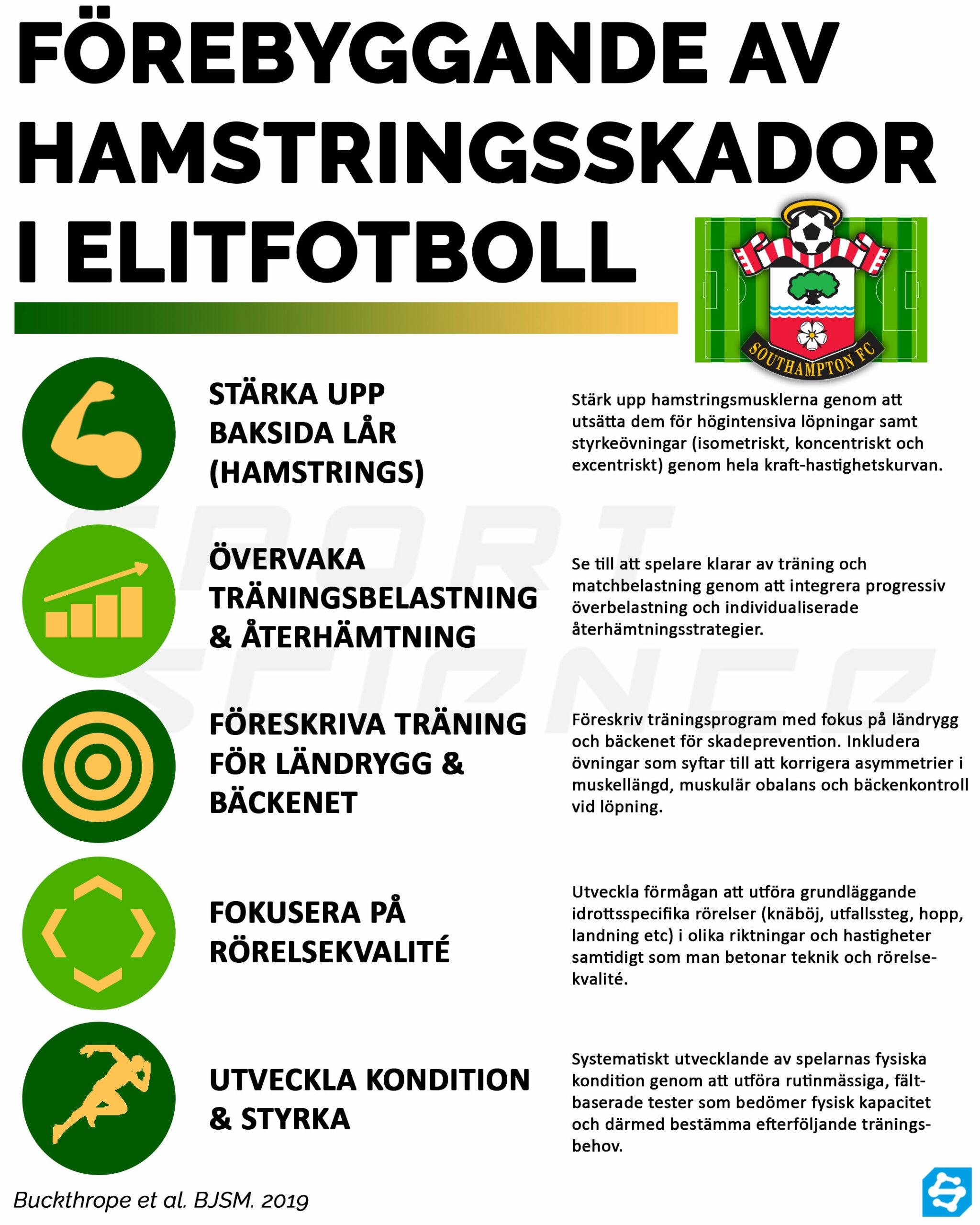 hamstringsskador fotboll